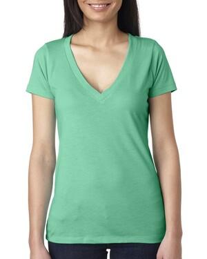 Women's Tri-Blend Deep V T-Shirt