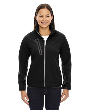 Terrain Women'sColor-Block Soft Shell With Embossed Print
