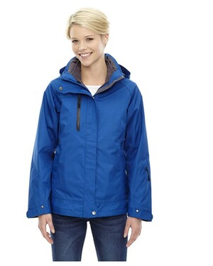 Caprice Women's3-In-1 Jacket With Soft Shell Liner