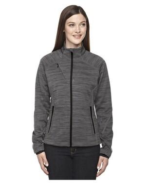Flux Women's Melange Bonded Fleece Jacket
