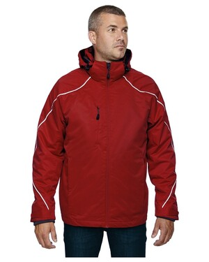 Angle Men's3-In-1 Jacket With Bonded Fleece Liner