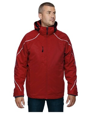 Angle Men'sTall 3-in-1 Jacket with Bonded Fleece Liner