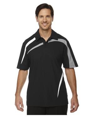 ImpactMen's Performance Polyester Pique Color-Block Polo Shirt