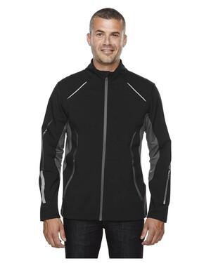 PursuitMen's3-Layer Light Bonded Hybrid Soft Shell Jacket