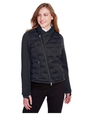 Ladies' Pioneer Hybrid Bomber Jacket