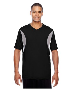 Men's Short-Sleeve Athletic V-Neck Tournament Jersey