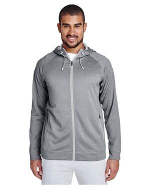 Men's Excel Melange Performance Fleece Jacket