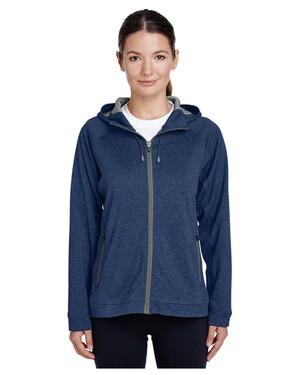 Ladies' Excel Melange Performance Fleece Jacket