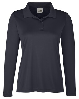 Ladies' Zone Performance Long Sleeve Polo Shirt