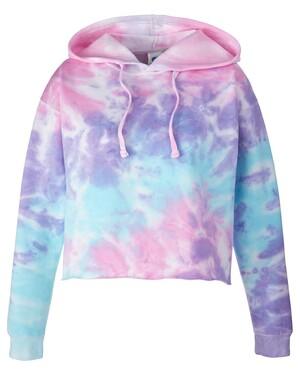 Ladies' Cropped Hooded Sweatshirt