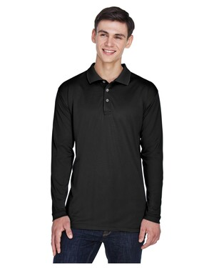 Adult Cool & Dry Sport Long-Sleeve Polo Shirt