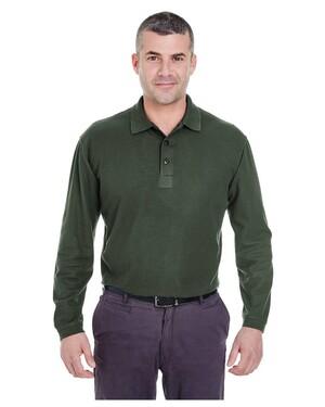 Adult Long-Sleeve Whisper Pique Polo Shirt