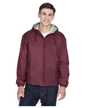 Adult Fleece-Lined Hooded Jacket
