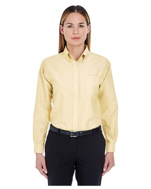 Women's Classic Wrinkle-Resistant Long-Sleeve Oxford