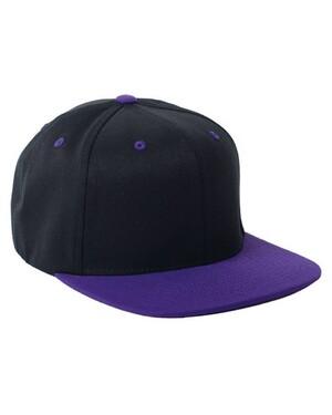 110 Wool Blend Two-Tone Snapback Hat