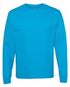 Hanes 5586 Blue-Green