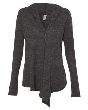 Women's Eco-Jersey Hooded Warm-Up Wrap