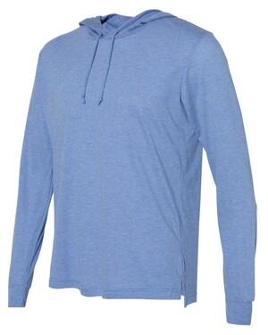 Unisex Triblend Long Sleeve Hooded Tee
