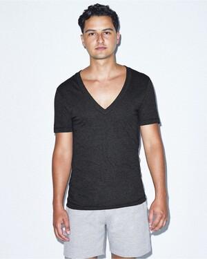 Unisex Triblend Deep V-Neck T-Shirt