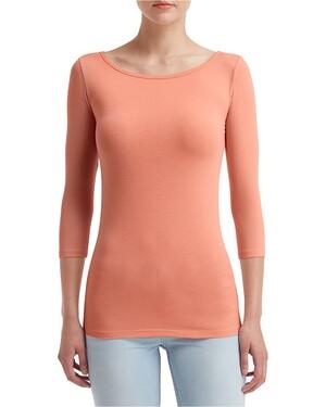 Women's Stretch Three-Quarter Sleeve T-Shirt