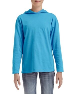 Youth Long Sleeve Hooded T-Shirt
