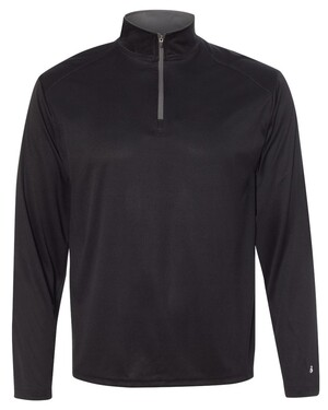 B-Core 100% Polyester Quarter-Zip Pullover