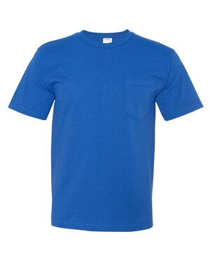 USA-Made Short Sleeve T-Shirt With a Pocket