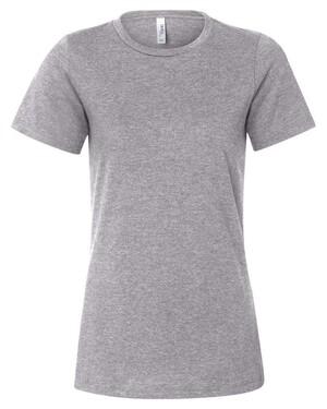 Women's Relaxed Fit Heather CVC T-Shirt