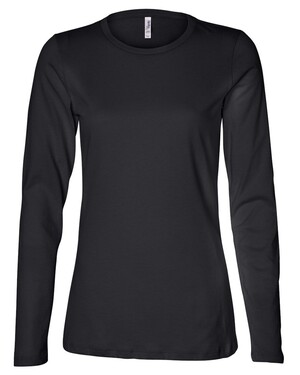 Missy Long Sleeve Crew Neck T-Shirt