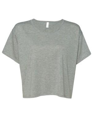 Crewneck Boxy Cropped T-Shirt