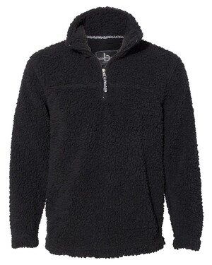 Unisex Sherpa Quarter-Zip Pullover