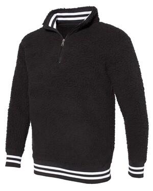 Varsity Sherpa Quarter-Zip Pullover