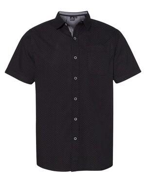 Peached Poplin Short Sleeve Shirt