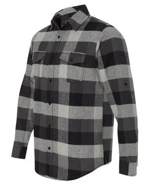 Yarn-Dyed Long Sleeve Flannel Shirt