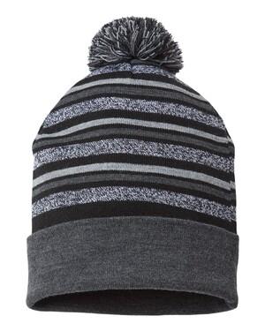 USA-Made Striped Beanie