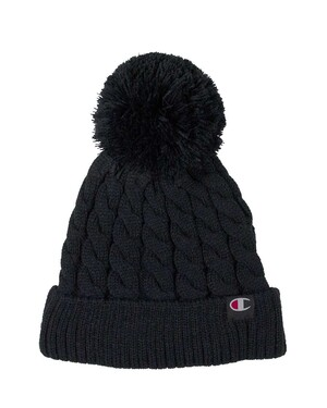 Limited Edition Cable Pom Beanie