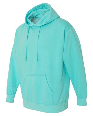Garment-Dyed Pullover Hoodie