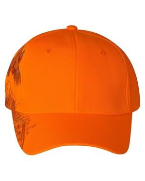 Blaze Orange Quail Hat