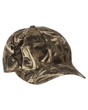 Buck Applique Cap