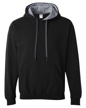 Heavy Blend Hoodie with Contrast-color Lining