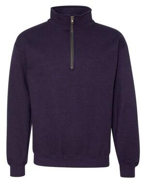 Heavy Blend Quarter-Zip Fleece Pullover