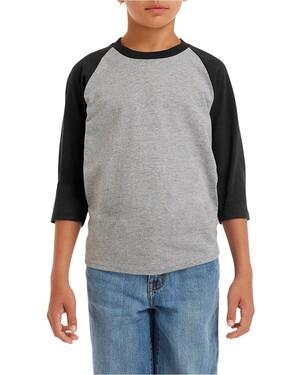 Heavy Cotton Youth Raglan T-Shirt