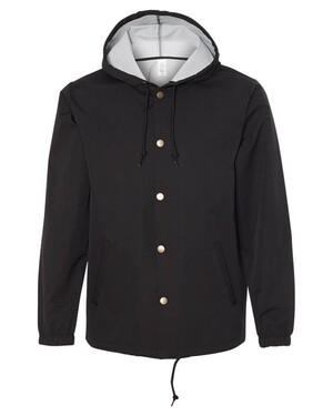 Water Resistant Hooded Windbreaker Jacket