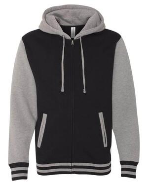 Unisex Varsity Full-Zip Hoodie