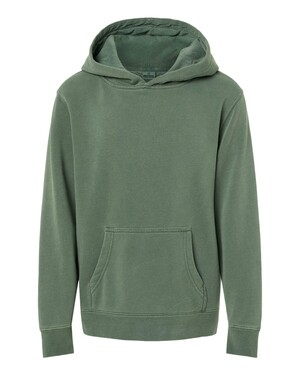 Youth Midweight Pigment-Dyed Hooded Sweatshirt