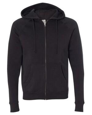 Unisex Special Blend Raglan Full Zip Hoodie