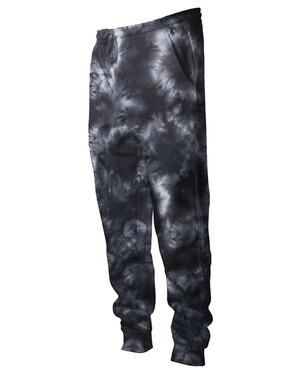 Tie-Dyed Fleece Pants