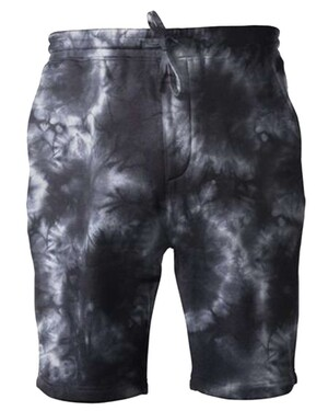 Tie-Dyed Fleece Shorts