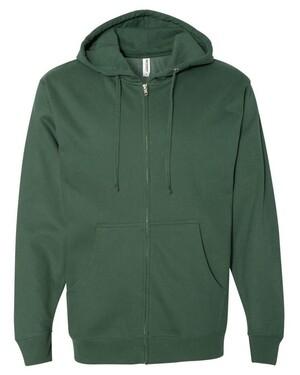 Midweight Hooded Full-Zip Sweatshirt