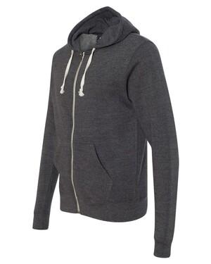 Triblend Hooded Full-Zip Sweatshirt